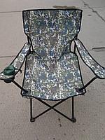 Кресло раскладное туристической камуфляж, фото 1
