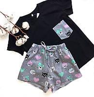 Пижама футболка и шорты L-XL собачки