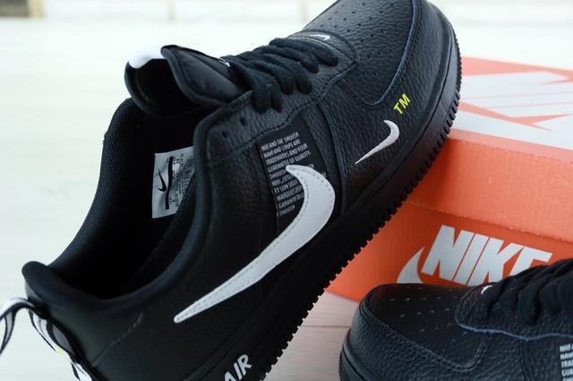 Женские кроссовки Nike Air Force 1 Low TM 07 Black