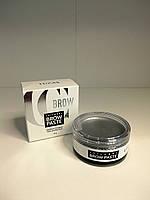 Silver Brow Paste, CC Brow. Паста для бровей моделирующая, серебряная, 15 гр.