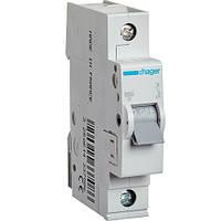 Автоматический выключатель 1Р 63А С MC163A Hager