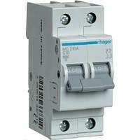 Автоматический выключатель 2Р 10А С MC210A Hager