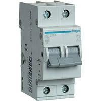 Автоматический выключатель 2Р 16А С MC216A Hager