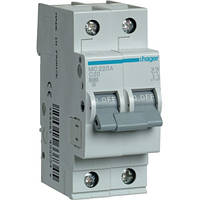 Автоматический выключатель 2Р 20А С MC220A Hager