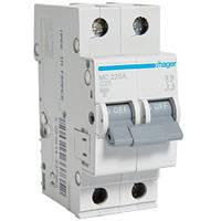 Автоматический выключатель 2Р 25А С MC225A Hager