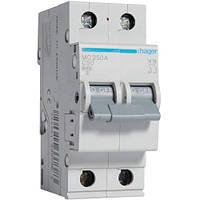Автоматический выключатель 2Р 50А С MC250A Hager