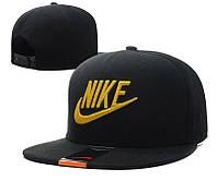 Кепка Nike Snapback Black-Yellow