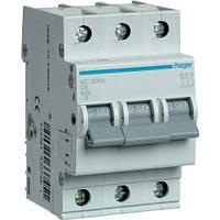 Автоматичний вимикач 3Р 6А C MC306A Hager