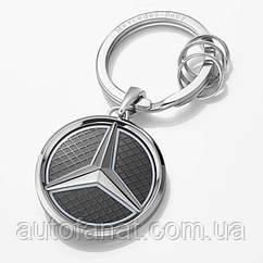 Оригинальный брелок Mercedes-Benz Key Ring, Las Vegas, silver/ black/ white (B66958326)