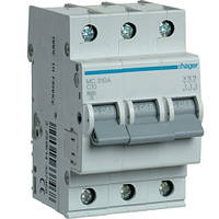 Автоматический выключатель 3Р 10А С MC310A Hager