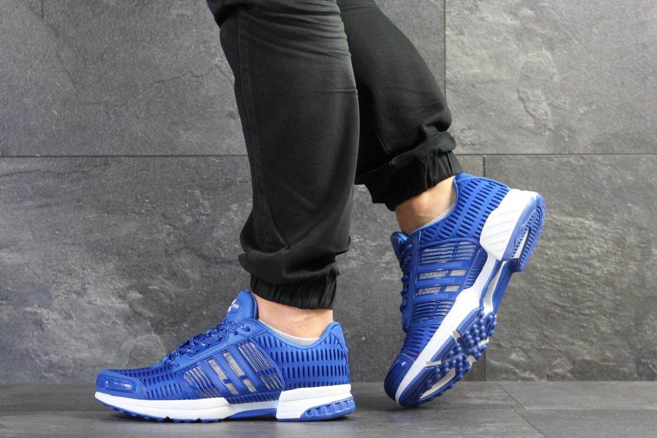 Кроссовки мужские Adidas Clima Cool,сетка,ярко синие 46р