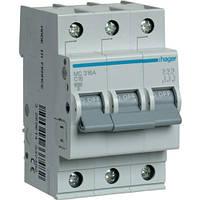 Автоматический выключатель 3Р 16А С MC316A Hager