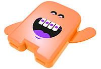 Контейнер ортодонтичний для резинок Angie - 1 шт, оранжевий, фото 1