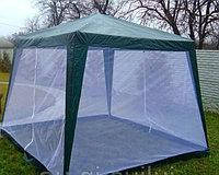 Павильон шатер тент с москитной сеткой и молниями S3301