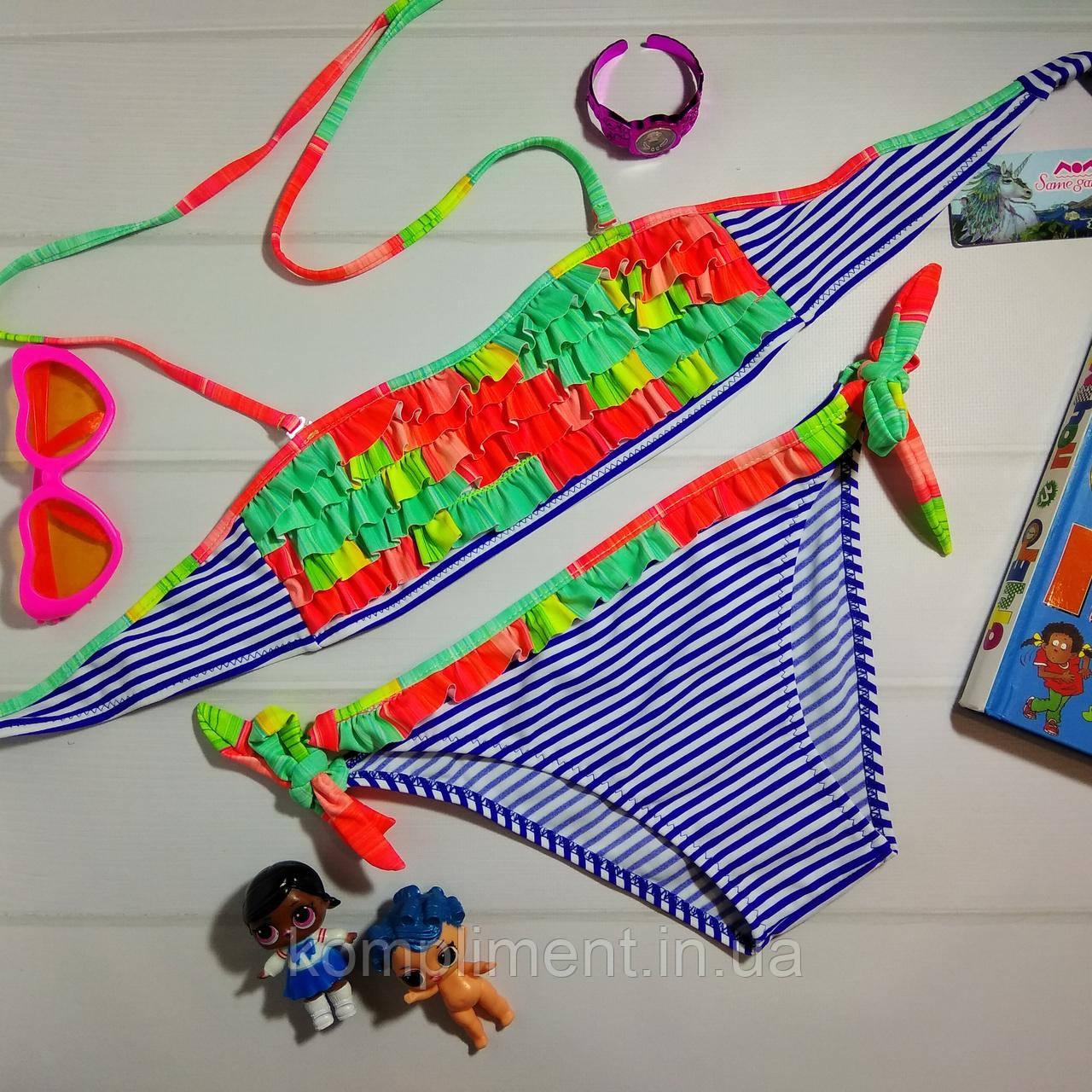 Яскравий дитячий купальник для дівчинки A - 2465