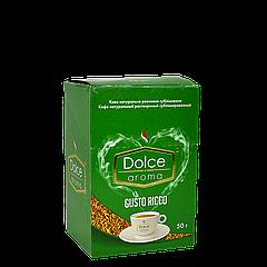 Кофе Dolce Aroma GUSTO RICCO стик (25*2г), 50г (12уп/ящ)
