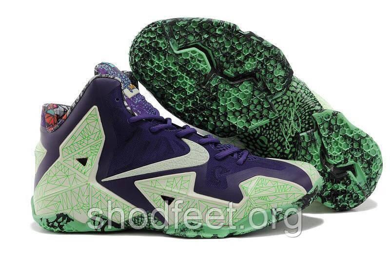 Мужские кроссовки Nike Lebron 11 All Star Gator King