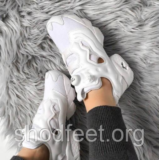 Женские кроссовки Reebok InstaPump Fury OG V65752 White