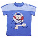 Качественная футболка на мальчика Dino (1-2 года) , фото 2
