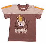 Качественная футболка на мальчика Dino (1-2 года) , фото 5