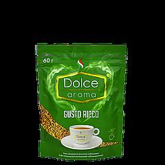 Кофе Dolce Aroma GUSTO RICCO растворимый, 60г
