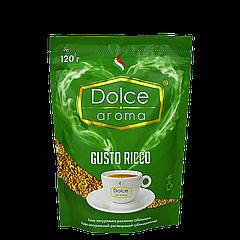 Кофе Dolce Aroma GUSTO RICCO растворимый, 120г