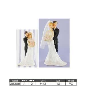 Свадебная фигурка код 28398A/B(код 00610)