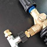 Трійник високого тиску для підключення двох пістолетів до АВД, фото 5