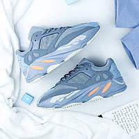 Кросівки Adidas Yeezy Boost 700 Interia (Адідас Ізі Буст Интериа в бірюзовому кольорі жіночі і чоловічі 36-45), фото 1