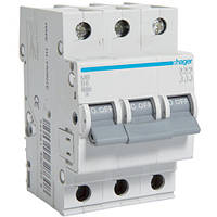 Автоматичний вимикач Hager 20 А, 3п, В MB320A