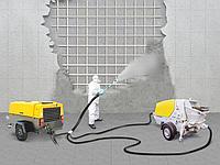 Защита конструкций и поверхностей сухим торкретированием