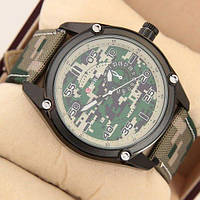 Мужские наручные часы (копия) Curren Military 8183 Green