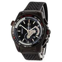 Мужские наручные часы (копия) Tag Heuer Grand Carrera Calibre 36 RS Caliper Rubber All Black