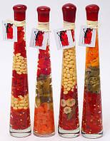 Декоративная бутылка с овощами, 32см, 4 вида