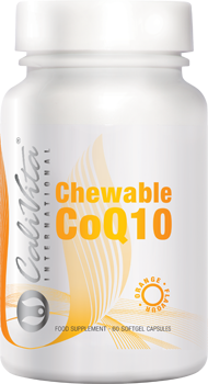 CHEWABLE CoQ10 ORANGE FLAVOUR Кофермент Q10 (капсулы, 60 шт.)