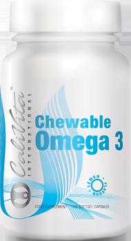 CHEWABLE OMEGA 3 LEMON FLAVOUR Жувальний Омега3 зі смаком лимону (капсулы, 100 шт.)