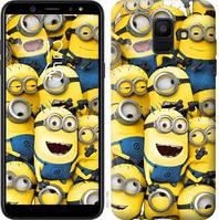Чехол Endorphone на Samsung Galaxy A6 2018 Миньоны 8 860c-1480-18675 (860-1480)