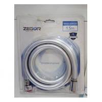 Шланг для душа трехслойный ZEGOR WKR 014 150см силикон