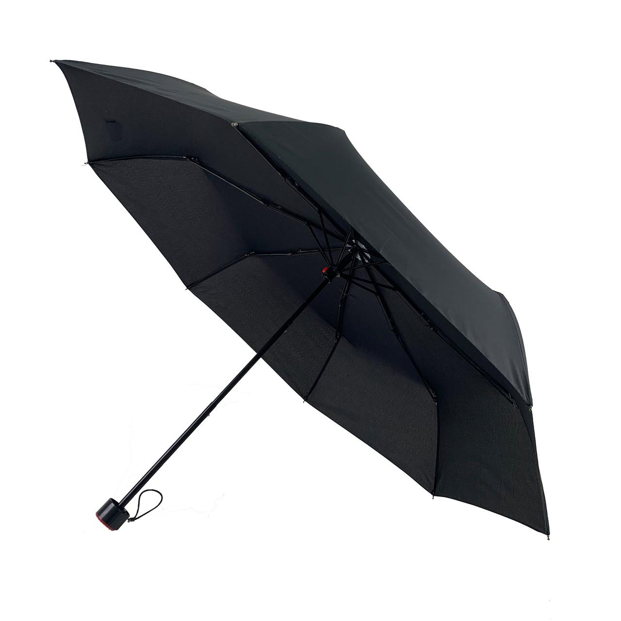 Механический мужской зонт Feeling Rain, черный, 3012-1