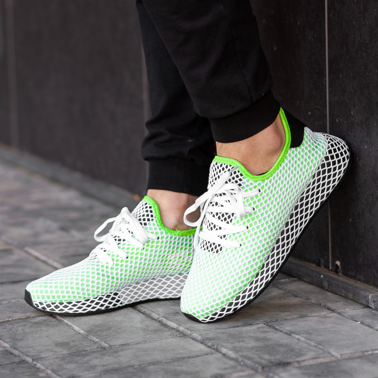 34255c2c Купить Мужские кроссовки Adidas Deerupt green 1 299 грн..