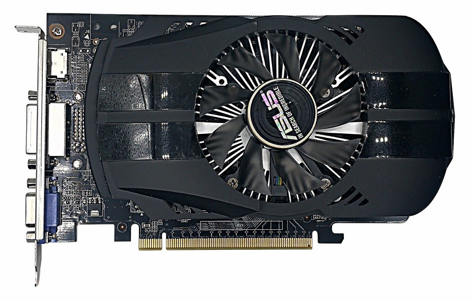 ASUS  GeForce GTX750  1Gb DDR5 Гарантия 3 мес.