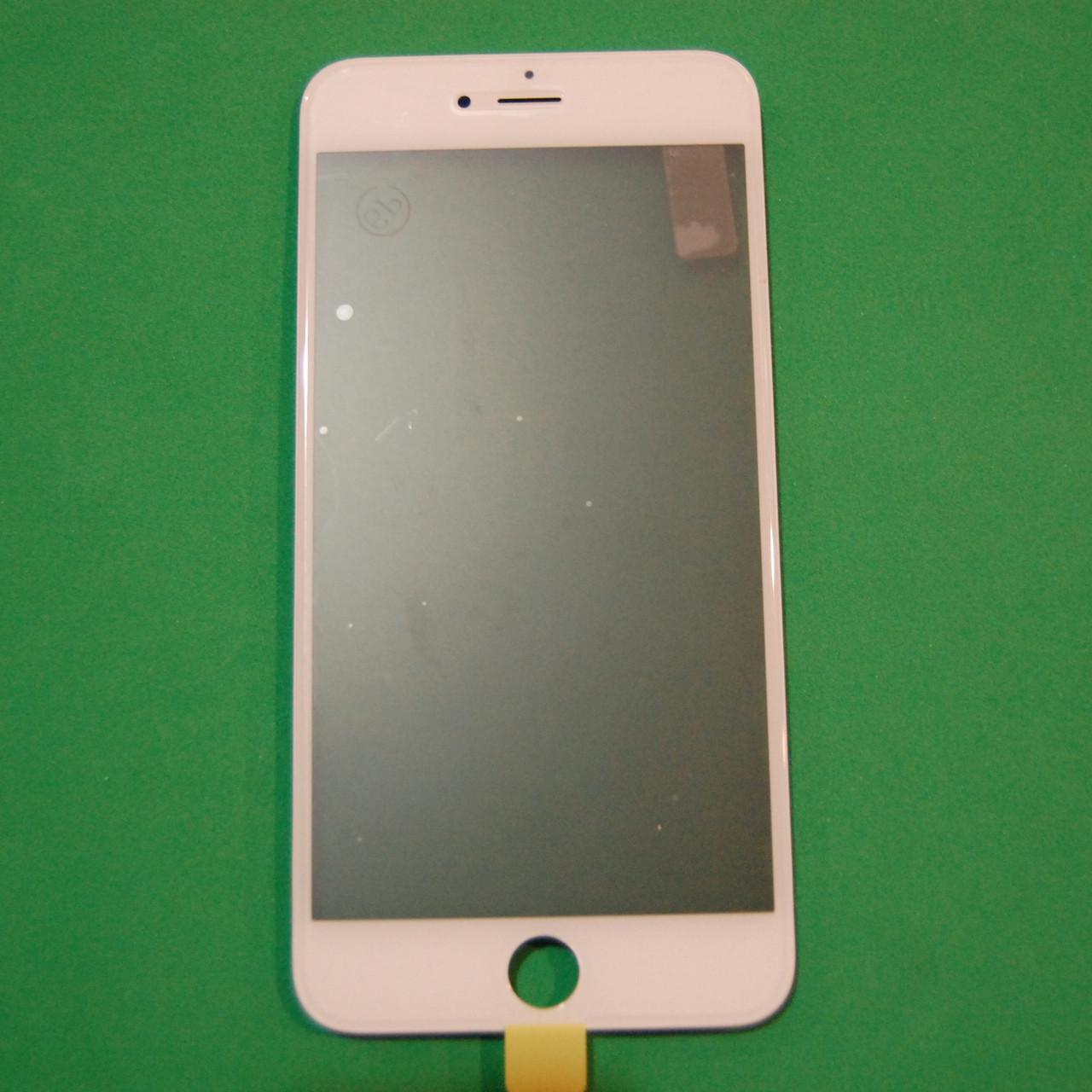 Стекло корпуса для Apple iPhone 6S Plus с рамкой,OCA пленкой,поляризационной пленкой,белый