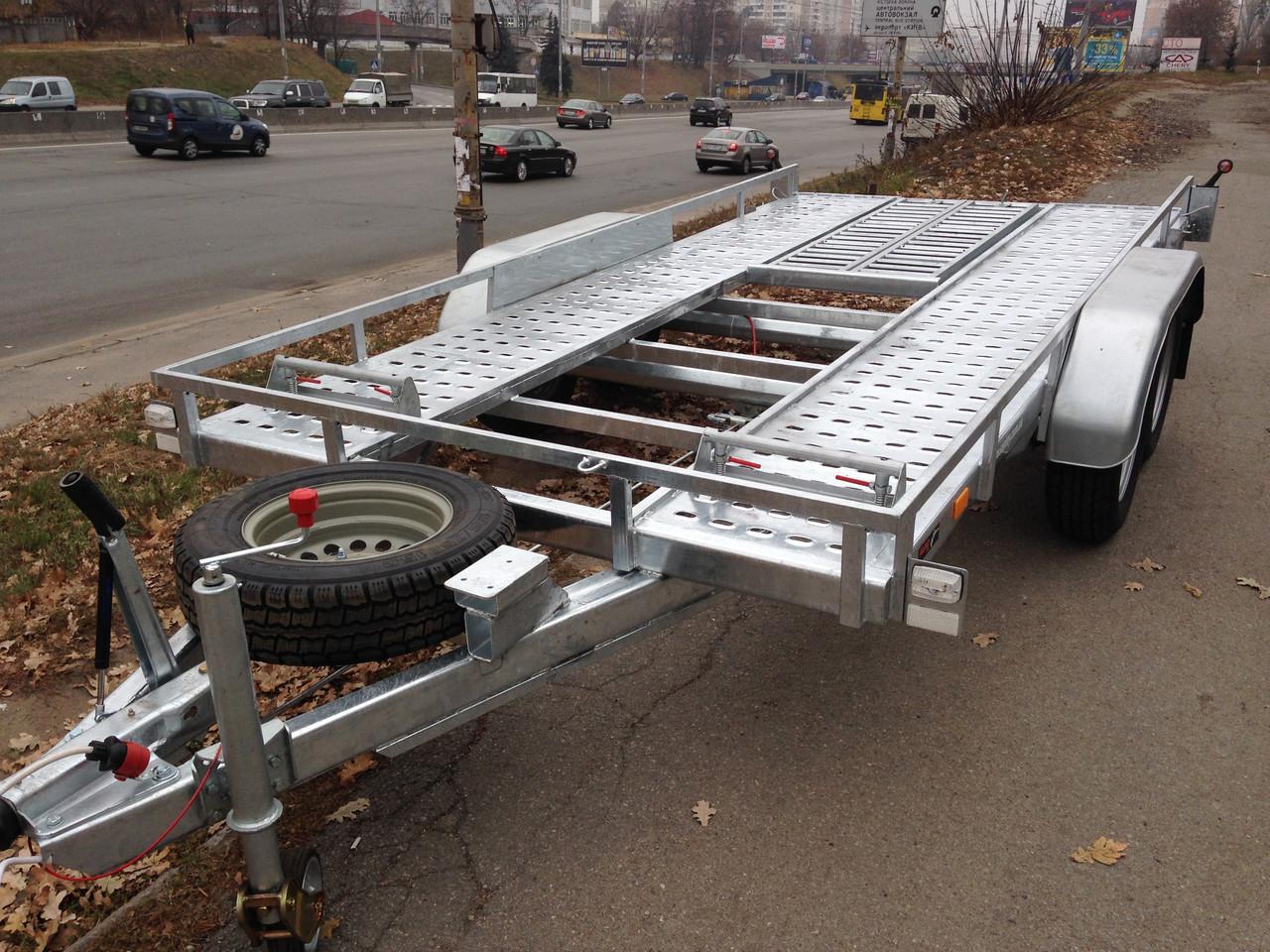 Прицеп автовоз для перевозки автомобилей Сантей 3000-51