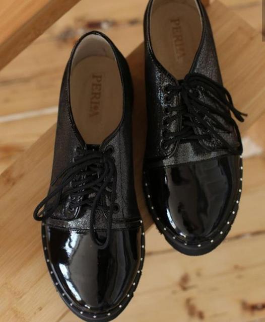 Классические туфли на низком ходу