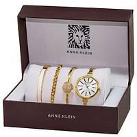Женские наручные часы (копия) Anna Klein Gold-White