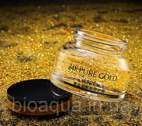Лифтинг гель-сыворотка Venzen Gold 24 k 50 ml