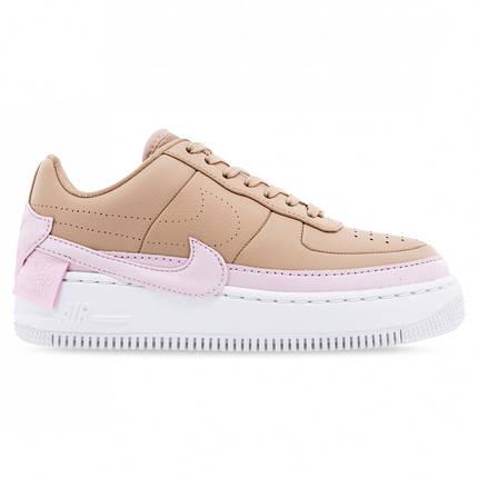 """Кросівки Nike Air Force 1 Jester """"Бежеві\Рожеві"""", фото 2"""