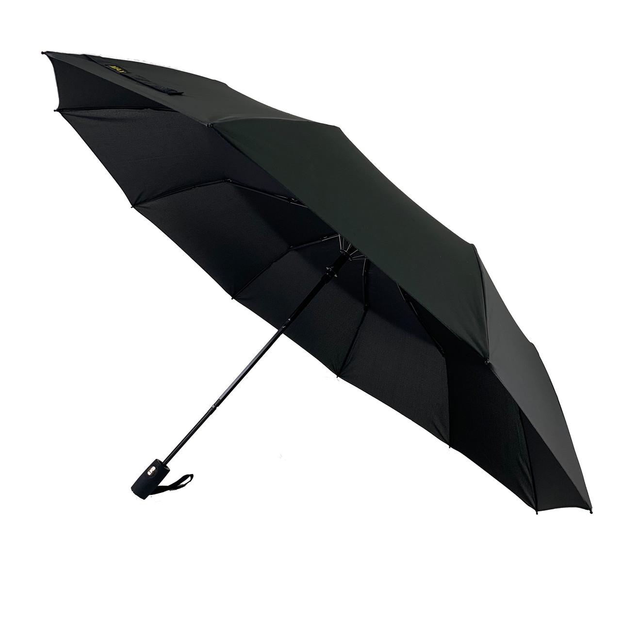 Мужской зонт-полуавтомат NOVEL, черный, 3251-1