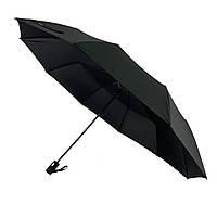Мужской зонт-полуавтомат Max, черного цвета, 911-1