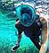 Маска для плавания FREE BREATH S/M с креплением на камеру, фото 7